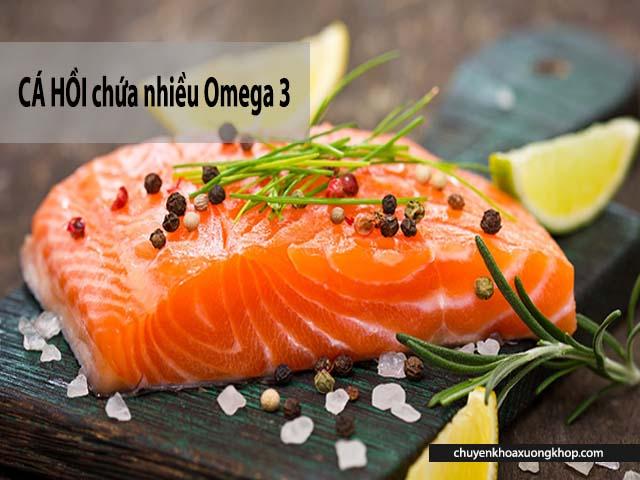 thoái hóa khớp gối nên ăn gì bổ sung cá hồi