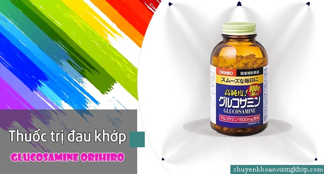 Glucosamine Orihiro chữa đau khớp