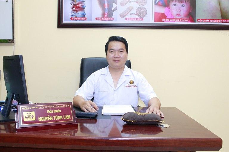 Lương y Tùng Lâm chữa thoát vị đĩa đệm giỏi tại Hồ Chí Minh
