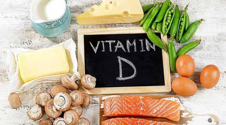 Người bị thoát vị đĩa đệm nên tăng cường bổ sung các loại thực phẩm giàu vitamin D