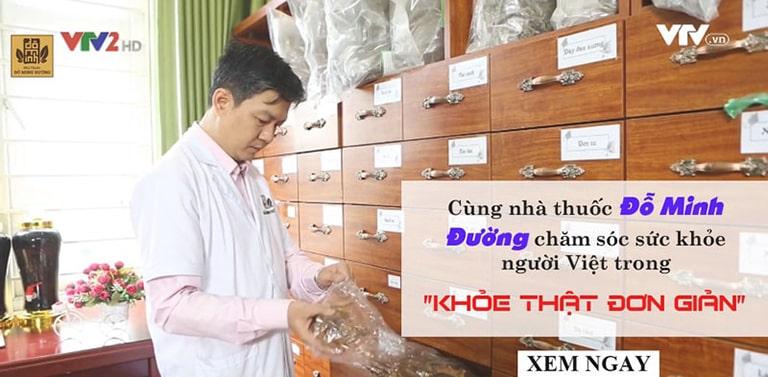 Lương y Đỗ Minh Tuấn từng xuất hiện trên VTV2 giới thiệu phác đồ trị thoát vị đĩa đệm