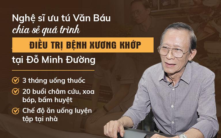 Nghệ sĩ Văn Báu chia sẻ hiệu quả bài thuốc