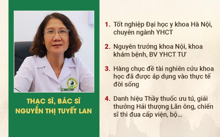 Thạc sĩ, Bác sĩ Nguyễn Thị Tuyết Lan đánh giá cao bài thuốc Gout Đỗ Minh